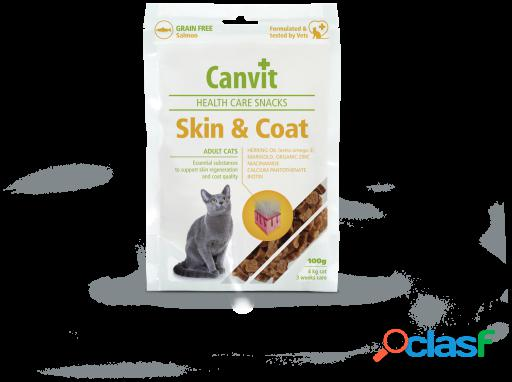 Canvit Cat Skin and coat 100 gramos para apoyar la