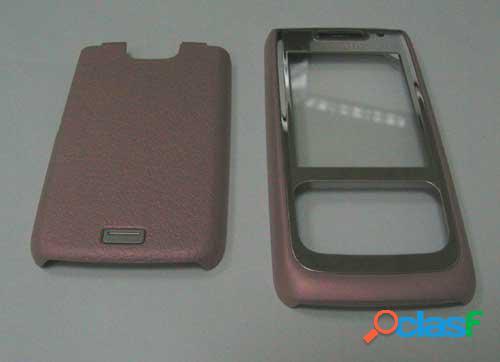 Carcasa Nokia E65 color rosa, original de la marca Nokia