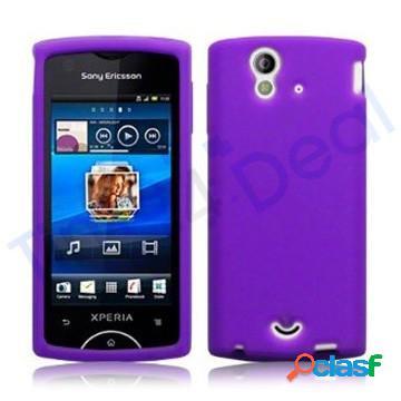 Carcasa protectora para Sony-Ericsson Xperia Ray silicona