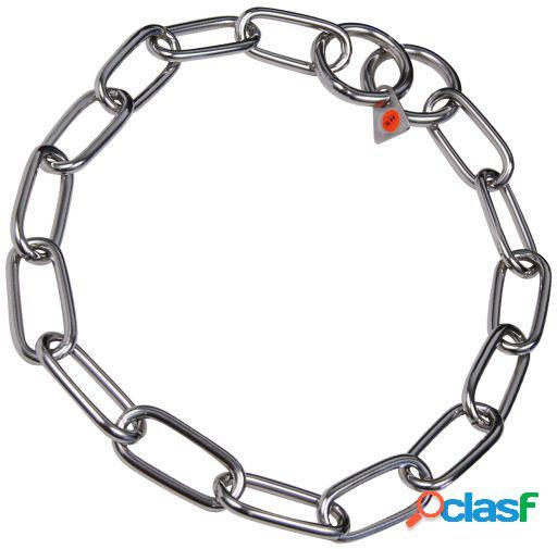 Chadog Collar Metalico Inox para perros 68 cm