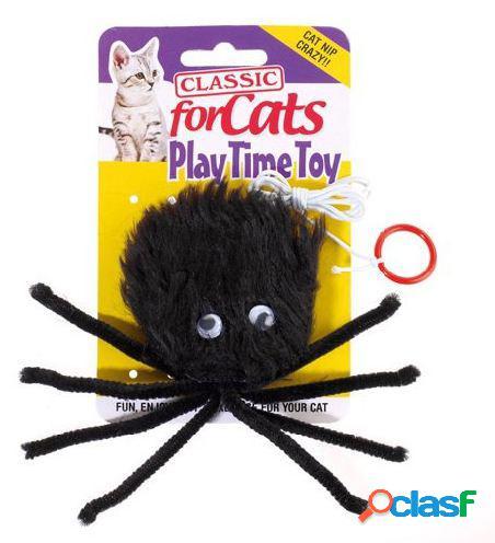 Classic For Pets Juguete de gato araña clásico de araña