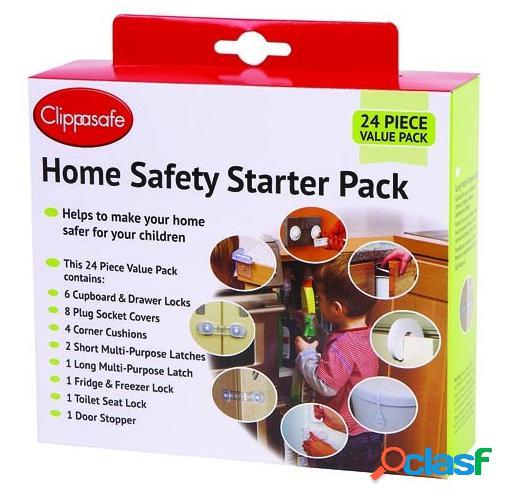 Clippasafe Set De Articulos De Seguridad Para El Hogar 24