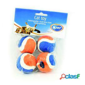 Duvo+ Pelotas Tennis Mini para gatos