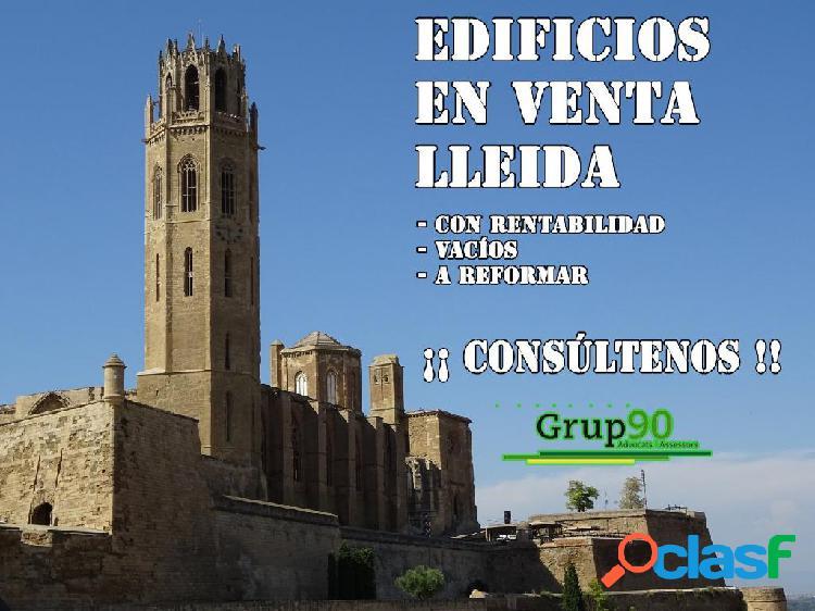 Edificios a la venta en Lleida - Consultenos.