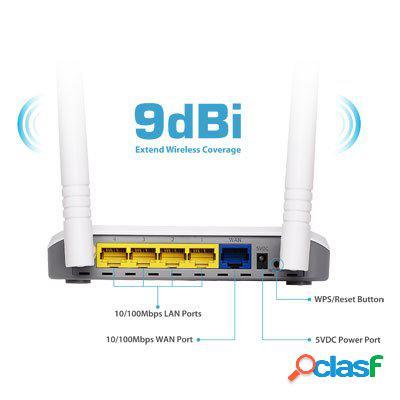 Edimax Br-6428Nc Router WiFi N300 3en1, original de la marca