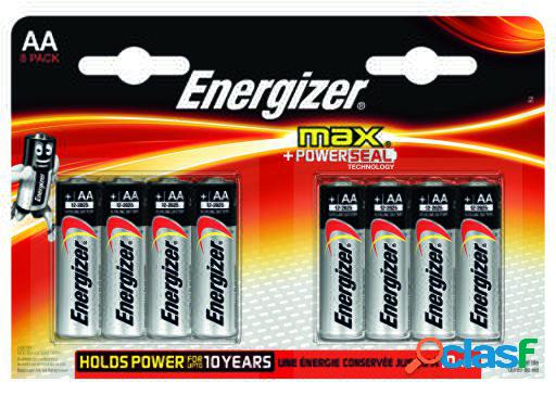 Energizer Max Power Seal Lr6 (AA) (8 uds)