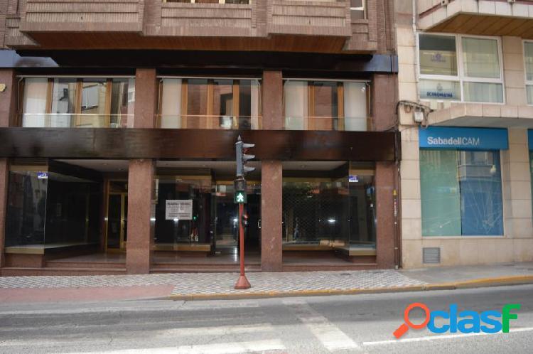 Excelente local comercial en la mejor zona de Villena
