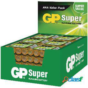 Expositor de pilas alcalinas aaa/lr03 1.5 v super 48 packs