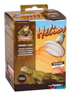 Flamingo Lampara de ceramica helios para reptiles de 150 W