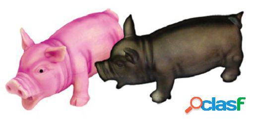 Freedog Cerdito rosa o negro con sonido auténtico para su
