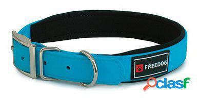 Freedog Collar Ergo Pvc Azul Para Perros 2x40 cm