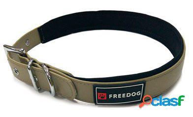 Freedog Collar Ergo Pvc Marrón Para Perros 1.5x35 cm