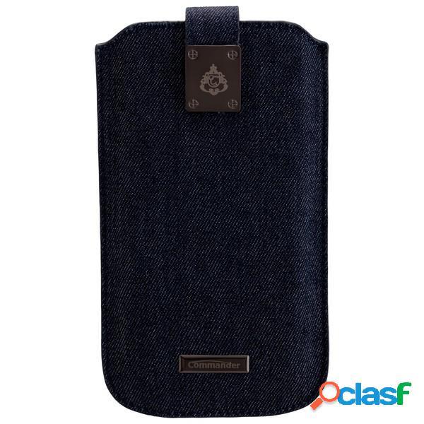 Funda Commander Milano Xxl 5. 0 - jeans - para Samsung