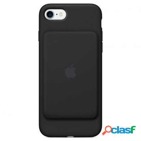 Funda apple smart battery case iphone 7 funda bateria negro