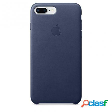Funda iphone 8 plus / 7 plus leather case - azul noche -
