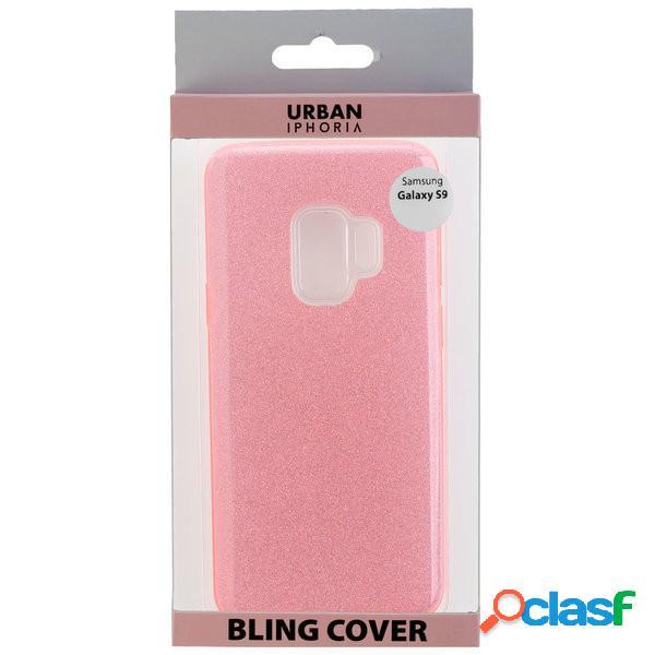 Funda trasera Urban Bling para Samsung Galaxy S9+, rosa