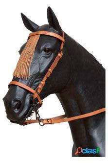 Galequus Cabezada Vaquera Pony Avellana