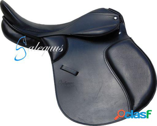 Galequus Silla Inglesa Ap1 Negro 18 para caballos