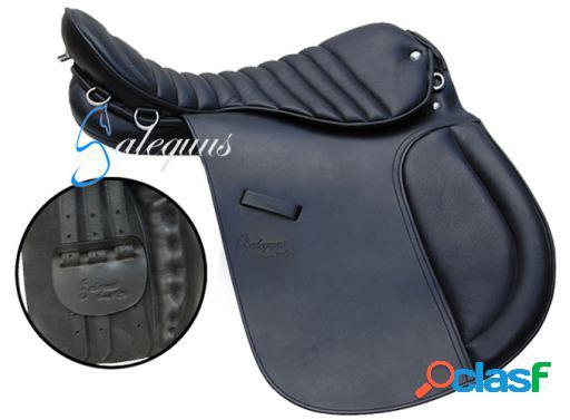 Galequus Silla Islandia 18 Negro para caballos
