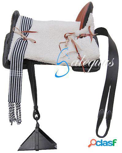 Galequus Silla Vaquera Pony Negro