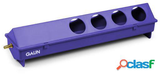 Gaun Bebedero Automático 50 Cm. 8 Huecos Violeta
