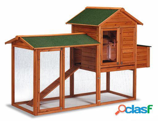Gaun Gallinero para aves de madera modelo Dublin.