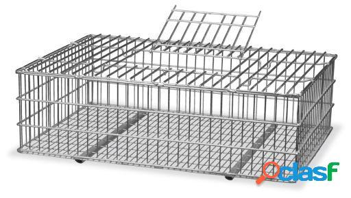 Gaun Jaula Transporte Conejos Galvanizada