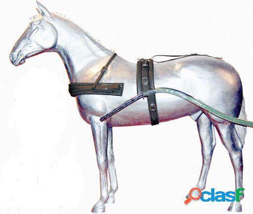 Gómez Guarnición Troton Nylon Negro Pony (3 Piezas)