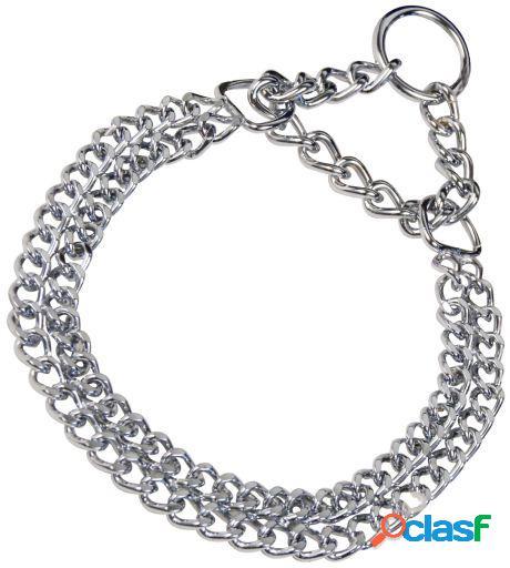 HS Sprenger Collar Doble Acero Cromado 55 Cm