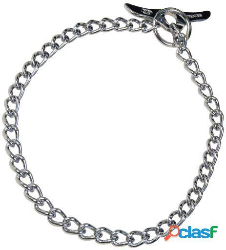 HS Sprenger Collar Mariposa acero cromado 60x0.25 cm