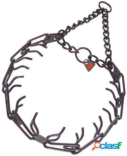 HS Sprenger Collar castigo 3,2mm x 58cm inoxidable negro