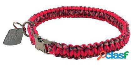 HS Sprenger Collar paracord limited edition lock 35 cm rojo