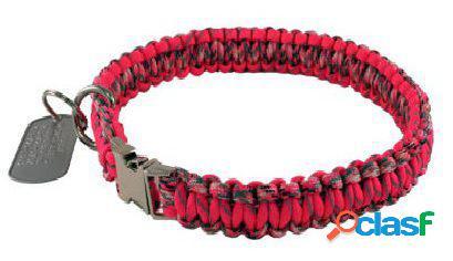 HS Sprenger Collar paracord limited edition lock 55 cm rojo
