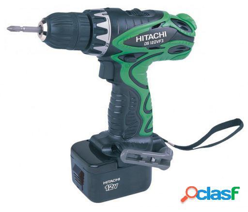 Hitachi Atornillador bateria 12v 2 velocidades