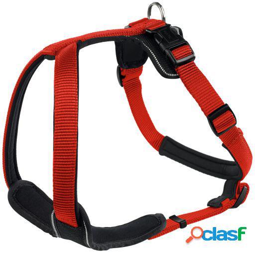 Hunter Arnés Neopren para perros rojo y negro XL