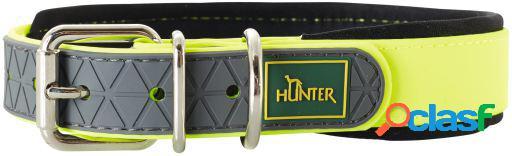 Hunter Collar Convenience para perros color amarillo neón