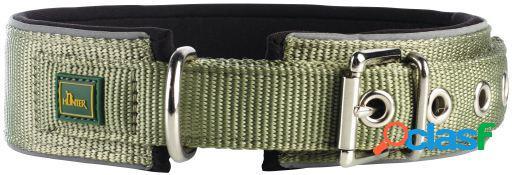 Hunter Collar Neopren Vario Plus para perros color verde y
