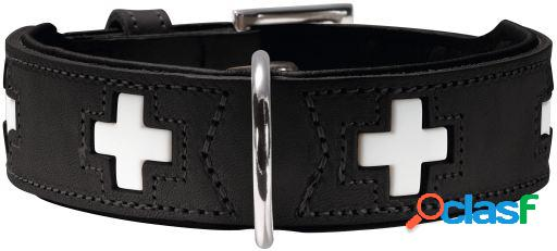 Hunter Collar Swiss para perros color negro T-60