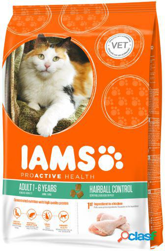 IAMS Adult Pollo Hairball 850 GR
