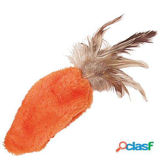 KONG Cat Feather Top Zanahoria