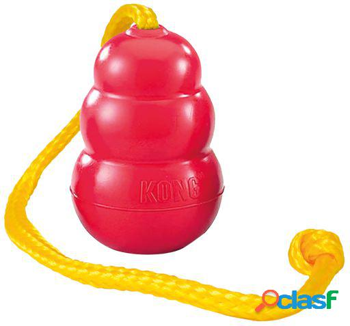 KONG Juguete perro Classic with rope XL