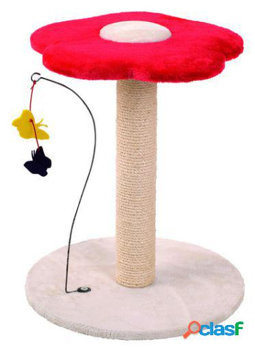Karlie Flamingo Rascador La Petite Fleur Beige/Rojo