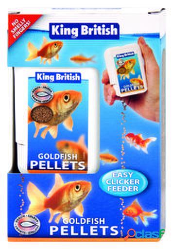 King British Goldfish Easy Clicker Feeder 26 GR