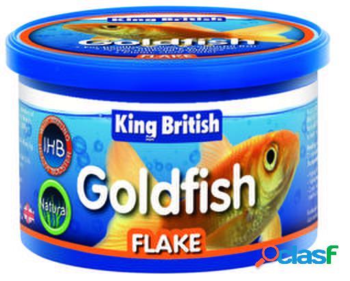 King British Natural Goldfish Flake (With IHB) 12 GR