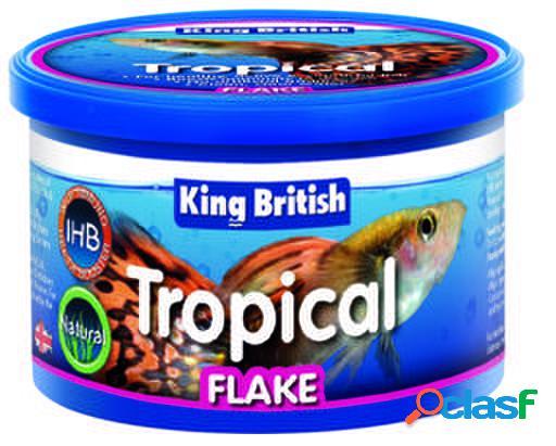 King British Natural Tropical Flake (With IHB) 200 GR