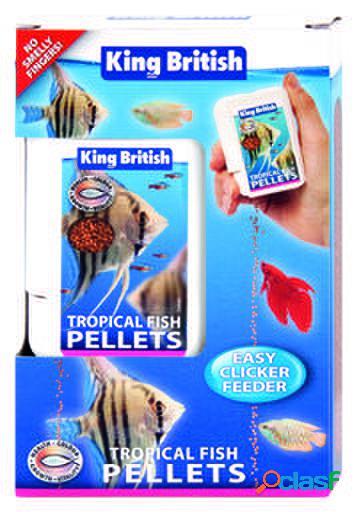 King British Tropical Fish Easy Clicker Feeder 30 GR
