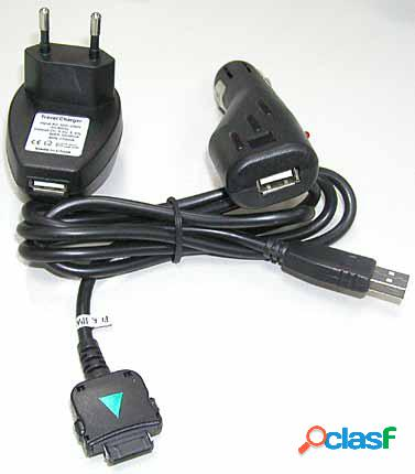Kit 4 en 1 cable de datos y cargador Ipaq 17xx, 19xx, 22xx,