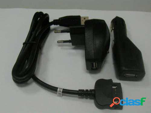 Kit 4 en 1 cable de datos y cargador Palm Tungsten T, C, W