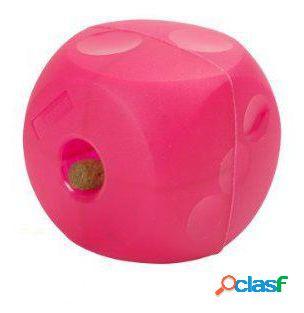 Kruuse Dispensador de golosinas Buster Soft Cube Mini rosa