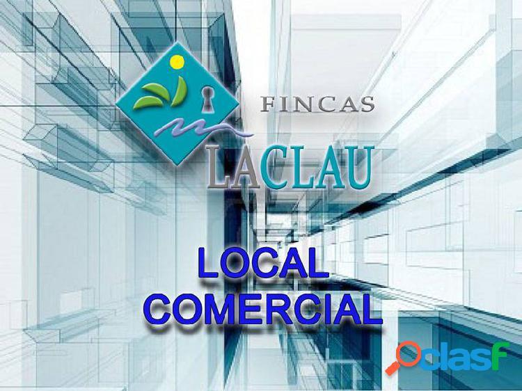 LOCAL COMERCIAL DE 30 M2. ACTUALMENTE TIENDA